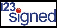 123 Signed logo